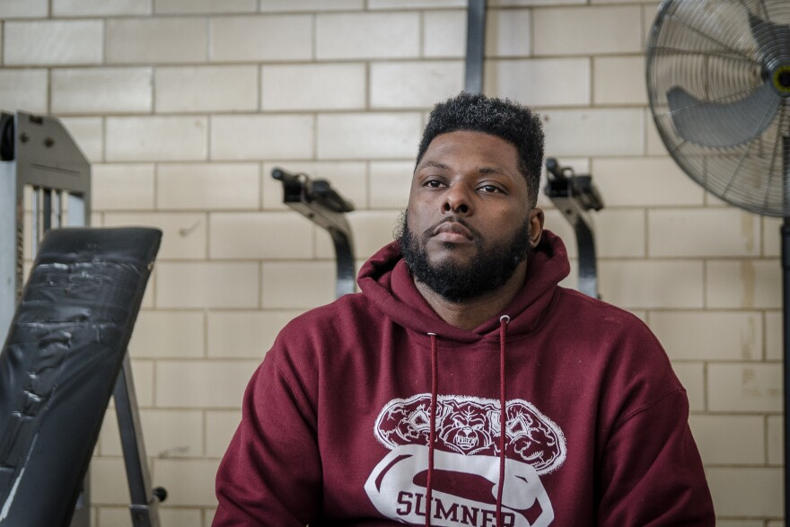 Tory Russell, an assistant coach and alumnus, is trying to save Sumner High School's football team from extinction. The district says there are not enough eligible players at the school to field a squad.
