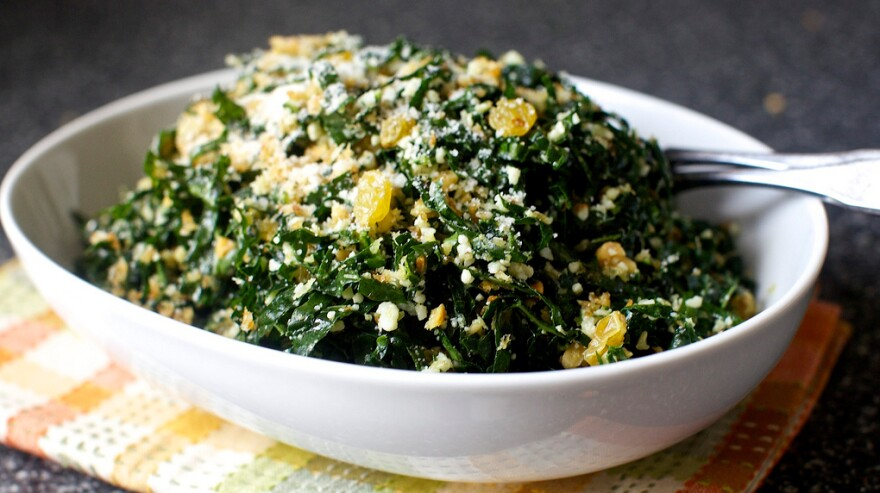 Food blogger Deb Perelman was initially a kale skeptic — until this Kale Salad With Pecorino And Walnuts changed her mind.