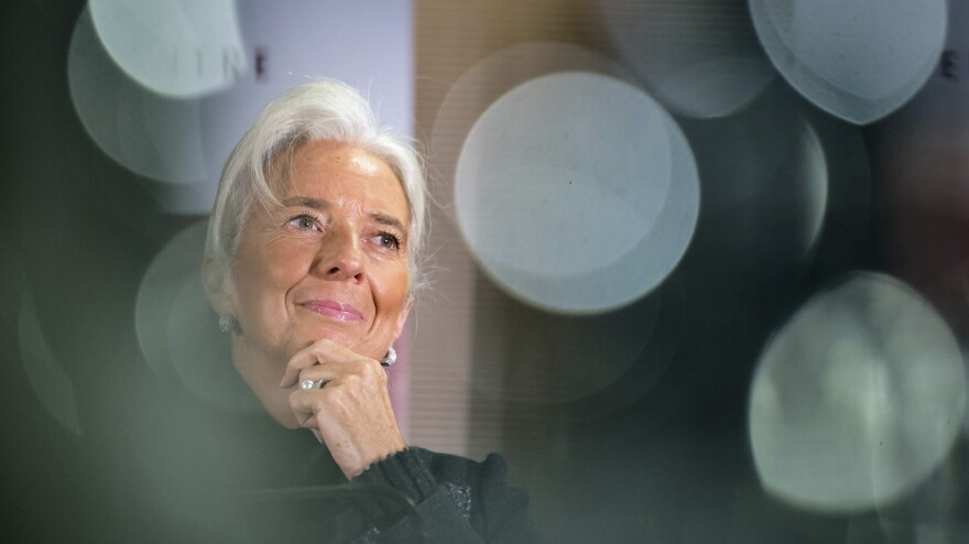 International Monetary Fund Managing Director Christine Lagarde in Brussels earlier this year. Lagarde says women are underutilized in the global economy.