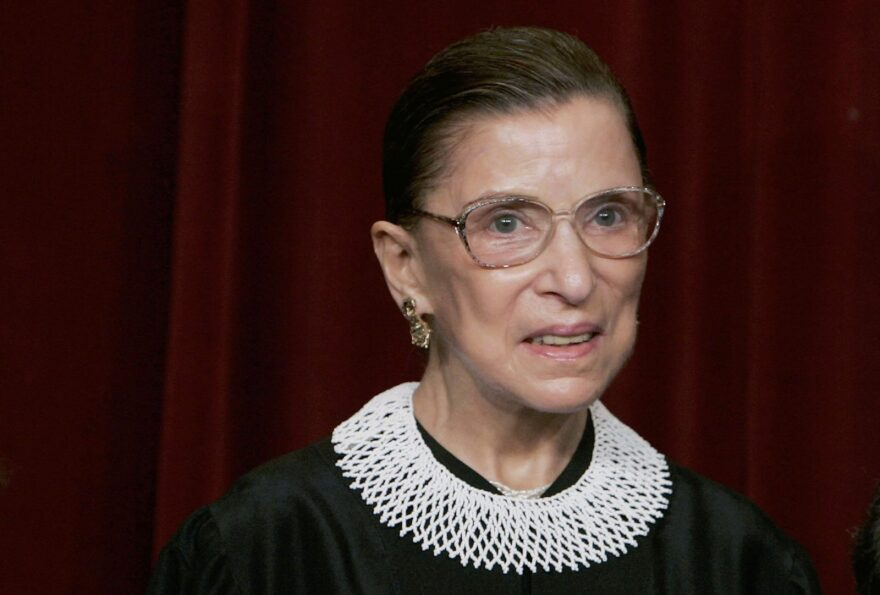 Justice Ruth Bader Ginsburg passed away at the age of 87. Her death sets up another nomination to the Supreme Court — just weeks ahead of a presidential election.