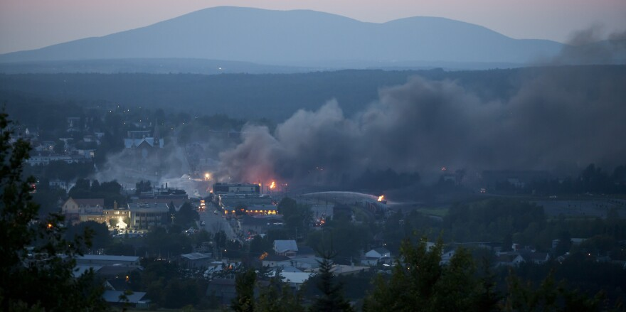 The death toll has been raised to 13 in a freight train's derailment and explosion in Lac-Megantic, Quebec, this past weekend.