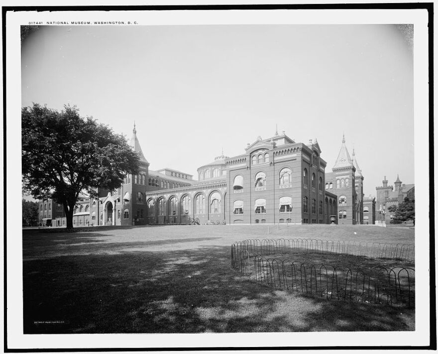 The A&I, pictured here in the early 1900s, was the Smithsonian's first museum building.