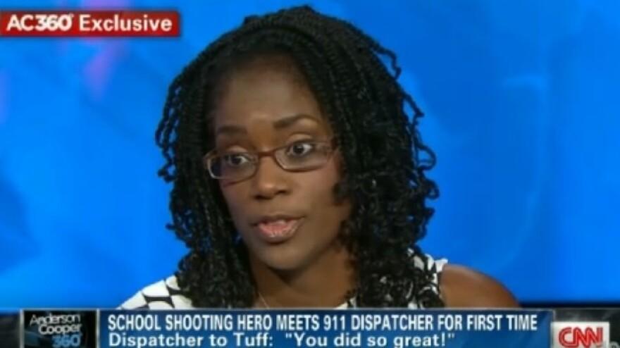 Antoinette Tuff, on CNN's <em>Anderson Cooper 360</em> on Thursday.