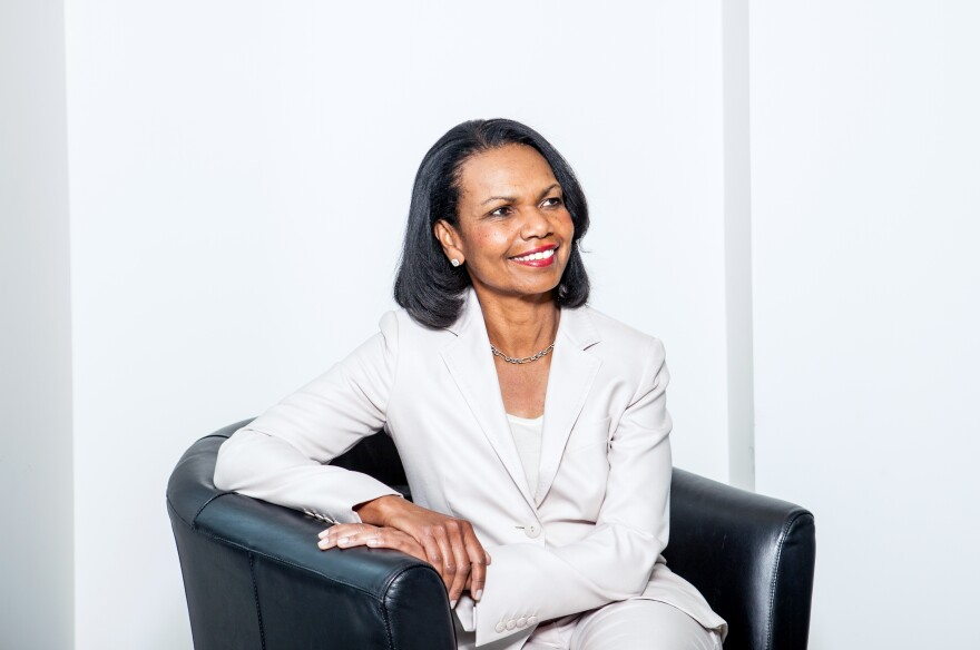 """What the American Founding Fathers understood was that institutions were built for human imperfection, not human perfection,"" Condoleezza Rice says."