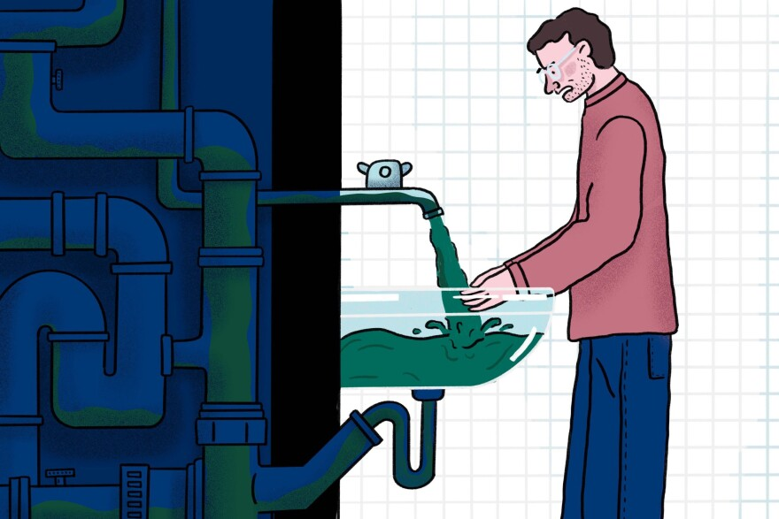 The pandemic forced many large buildings to close, including theaters, schools and stadiums. Researchers warn that the stagnant water sitting in the pipes of these buildings may have accumulated pathogens and heavy metals.
