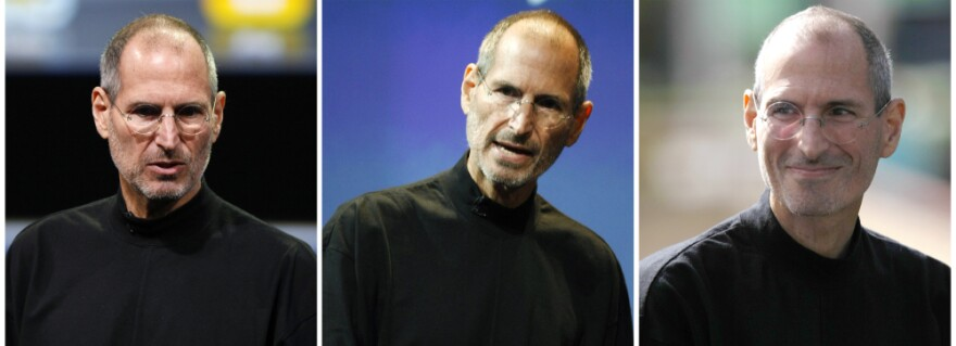 <p>Three file photos, from left, Jan. 2010, July 2010 and Oct. 2010, show Apple CEO Steve Jobs. ON Â Jan. 17, 2011, Jobs took a medical leave of absence for the second time in two years.</p>