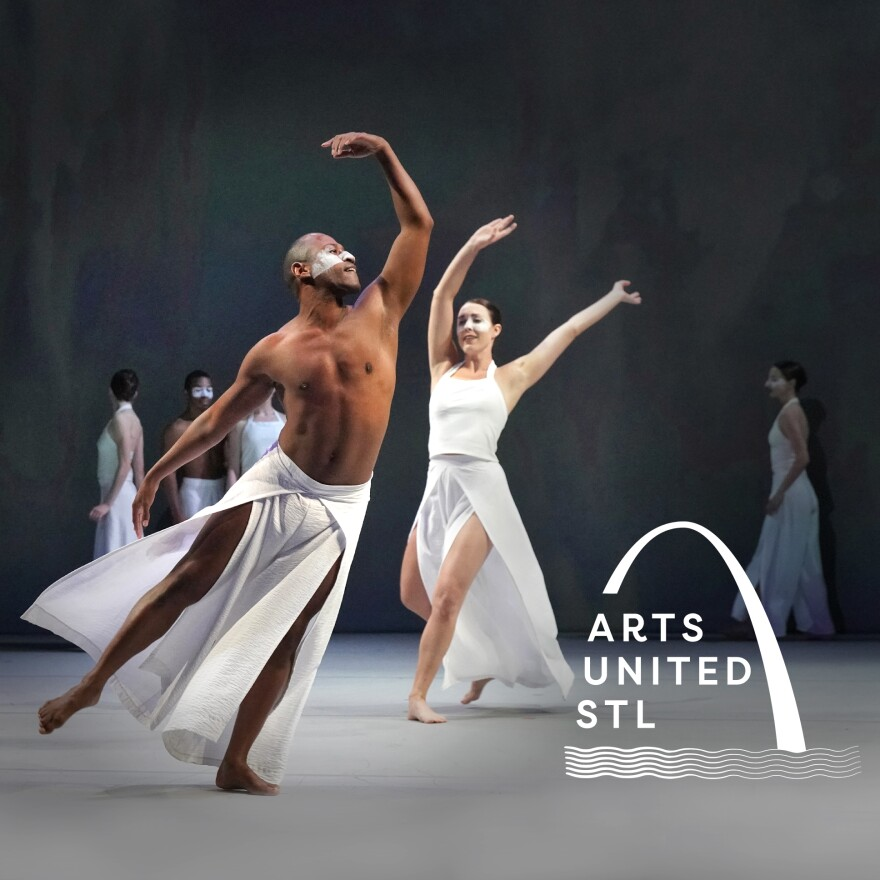 Members of Big Muddy Dance Company are seen in a promotional image for the Arts United STL benefit concert. [5/17/20]