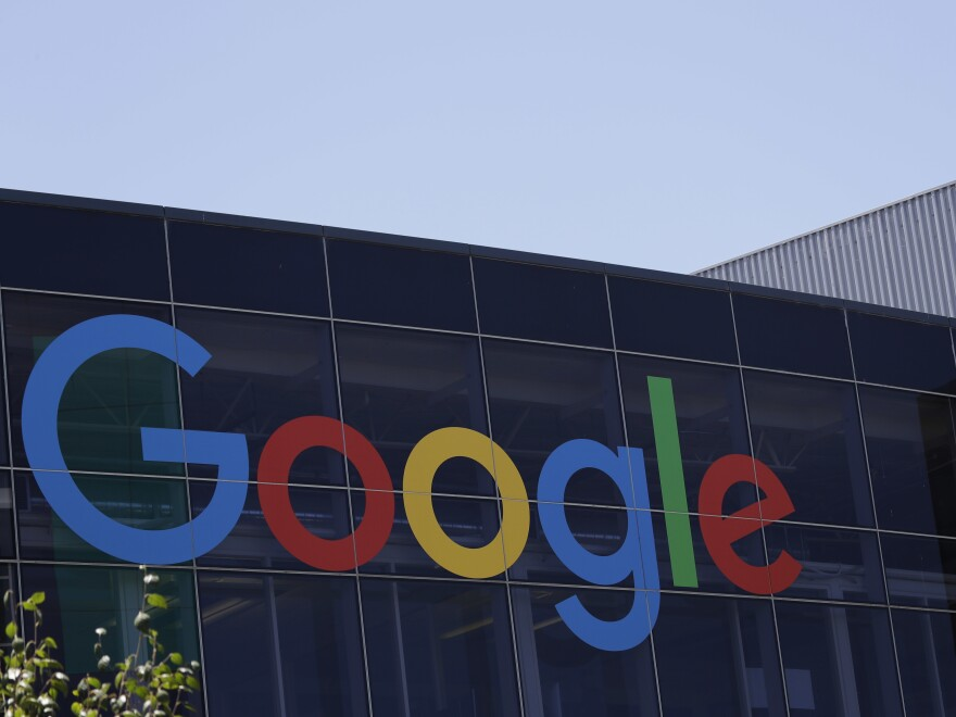 Google's headquarters in Mountain View, Calif. The company announced new restrictions Wednesday on advertisements for financial products.