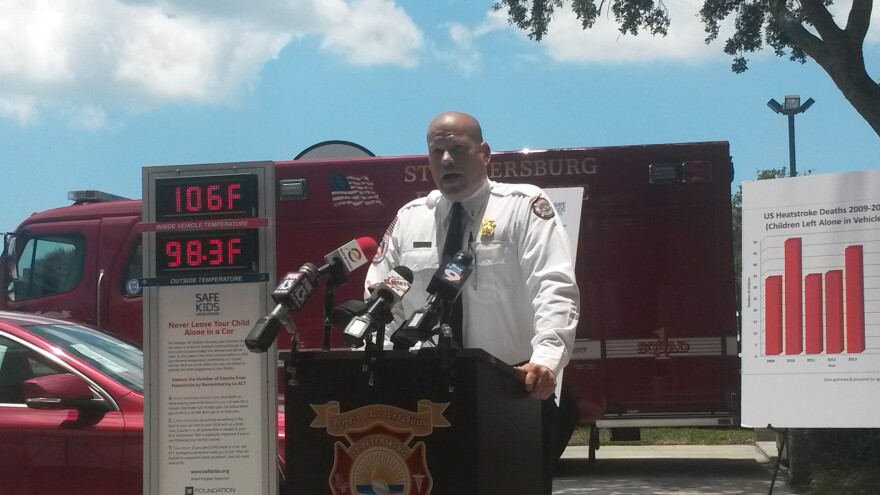 Lt. Steve Lawrence, Deputy Fire Marshal with St. Petersburg Fire & Rescue