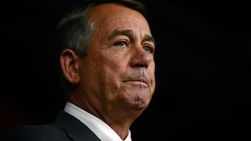 """This is the loneliest place in the world,"" House Speaker John Boehner said on the eve of his resignation."