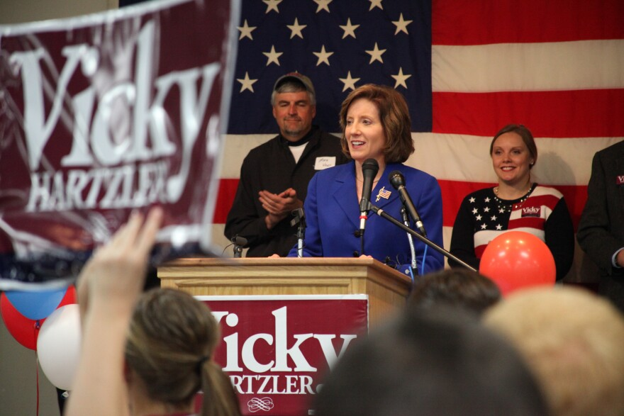 Missouri Republican U.S. Rep. Vicky Hartzler says President Donald Trump's national emergency declaration 'needed' to curb the 'flow of deadly drugs' across the U.S.-Mexico border.
