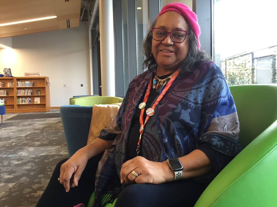 Fellow Kaye Jeter left retirement to work part-time leading a research project for the Dayton Metro Library.