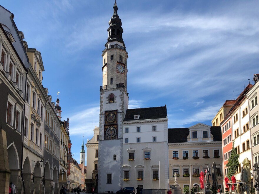 Goerlitz lost roughly half its population after Germany's reunification in 1990. An estimated 15,000 apartments remain vacant.