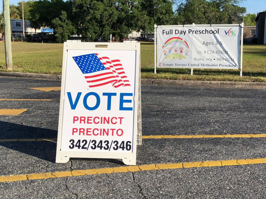 Voting signs