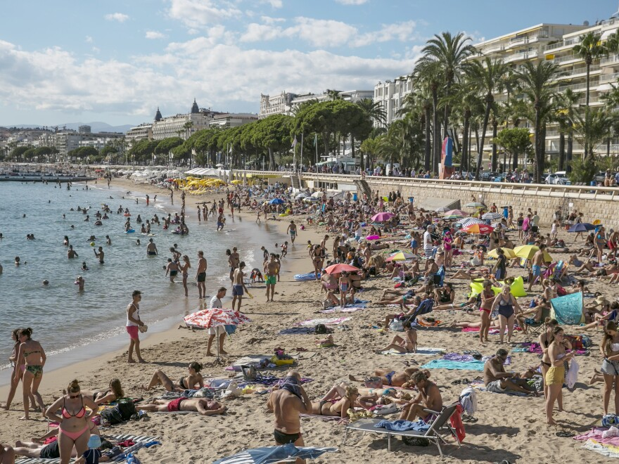 The French Riviera city of Cannes has banned a full-body swimsuit called a burkini designed with Muslim women in mind.