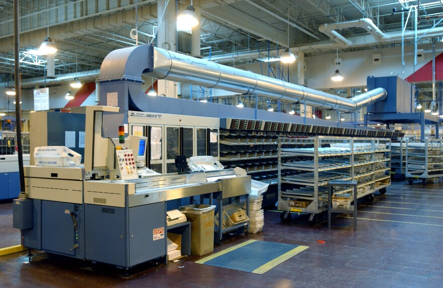 Delivery Bar Code Sorters like this one are being removed accross the country.