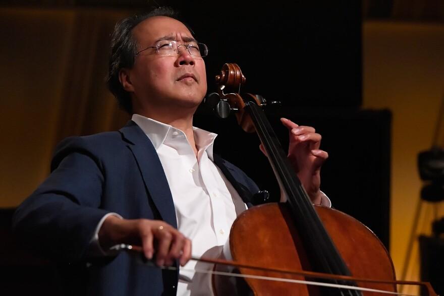 Yo-Yo Ma (Larry French/Getty Images for SiriusXM)