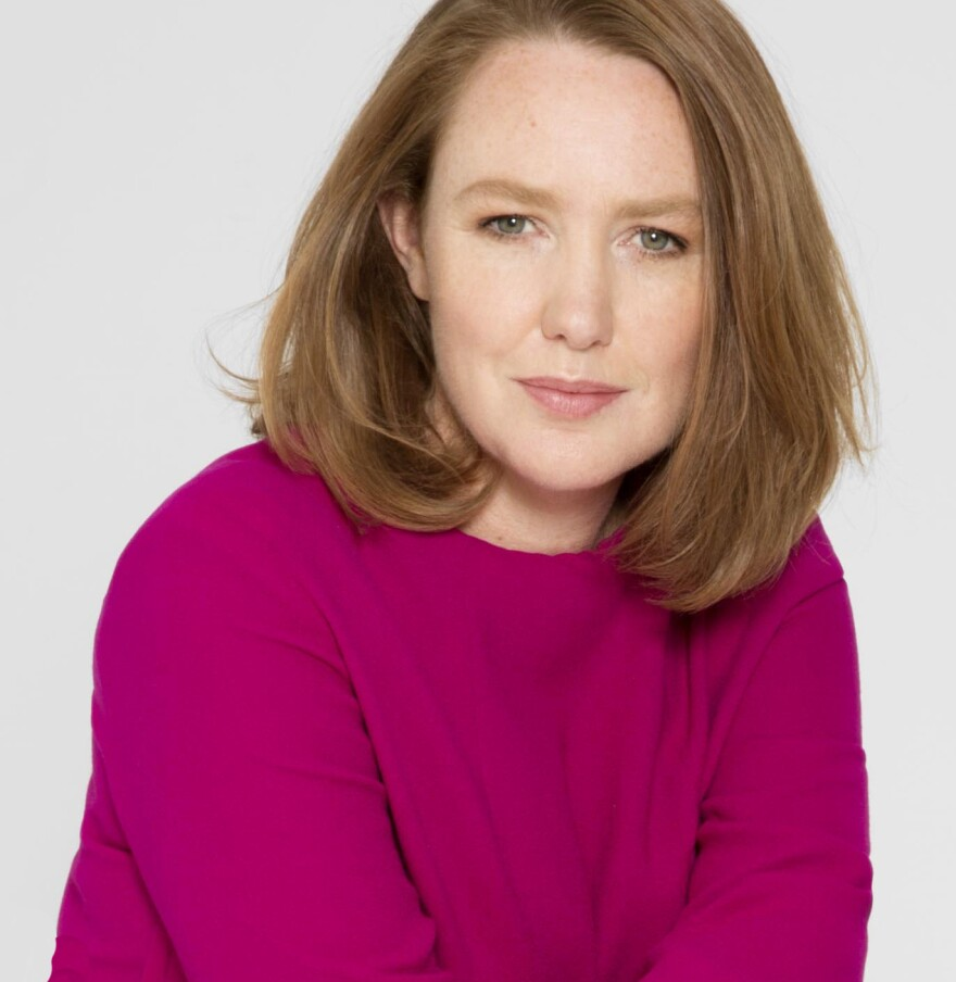 "Water ""can conceal,"" says author Paula Hawkins. ""You don't know what lies beneath it."""