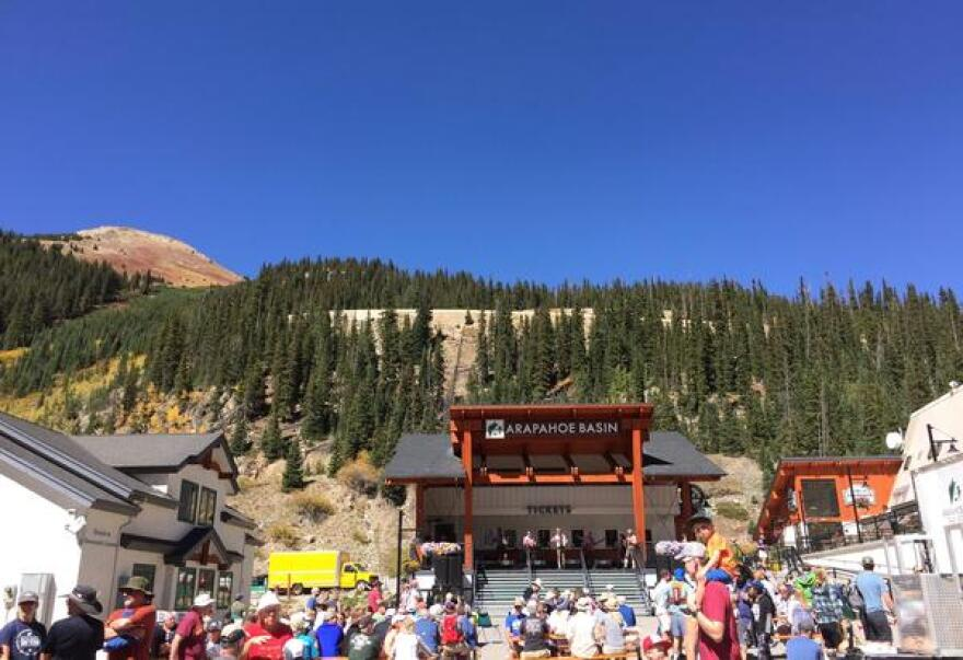 Arapahoe Basin Ski Area's Oktoberfest celebration