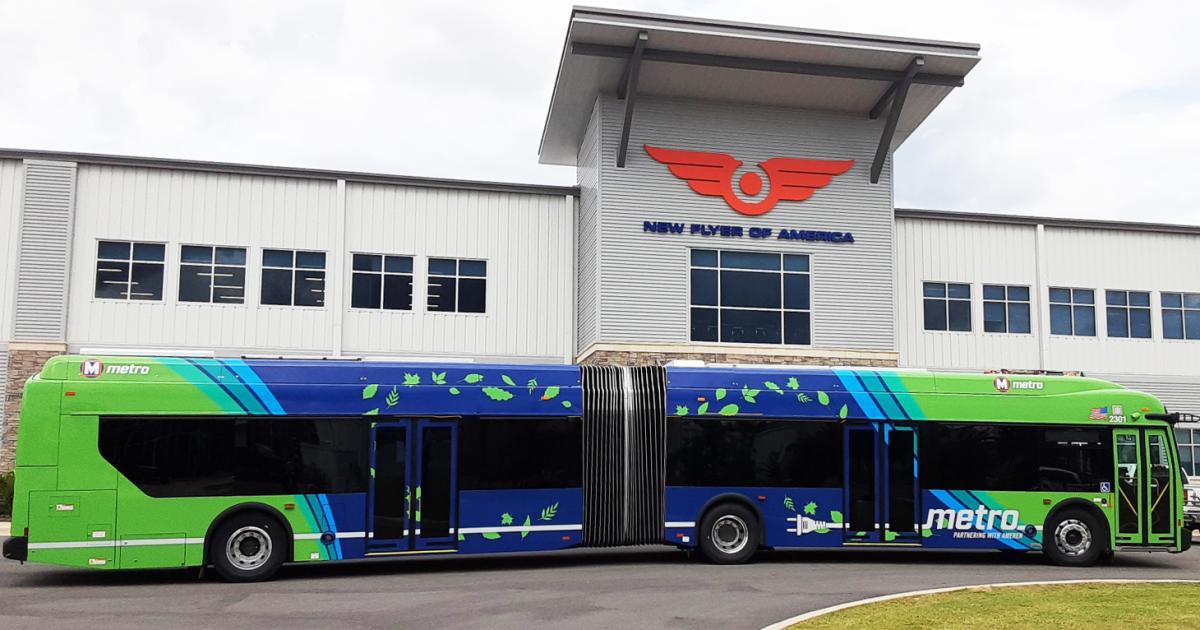 Metro Transit Buys Fleet Of 14 Electric Buses