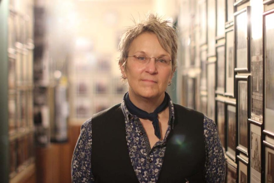 """Singer-songwriter Mary Gauthier appeared at McCabe's Guitar Shop in Santa Monica, Cal. as part of her nationwide tour for """"Rifles and Rosary Beads."""""""