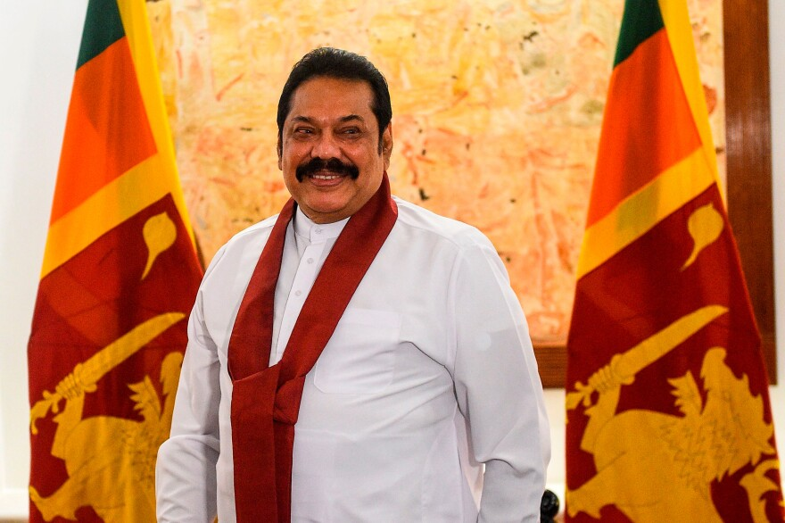 Mahinda Rajapaksa, now Sri Lanka's prime minister,  welcomed Chinese lenders and builders to become part of a major infrastructure boom when he previously served as president.
