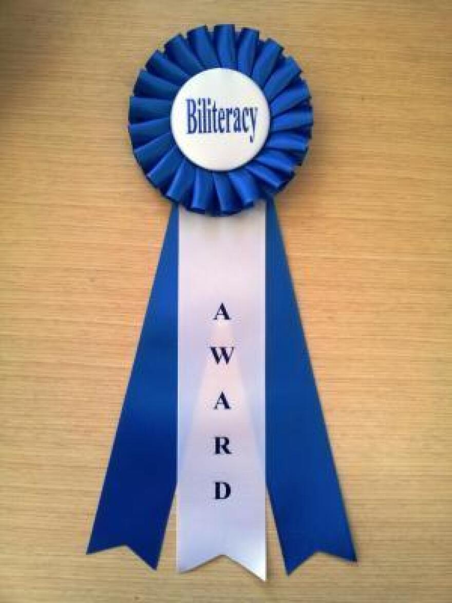 Californians Together Pathway Award for Middle School.
