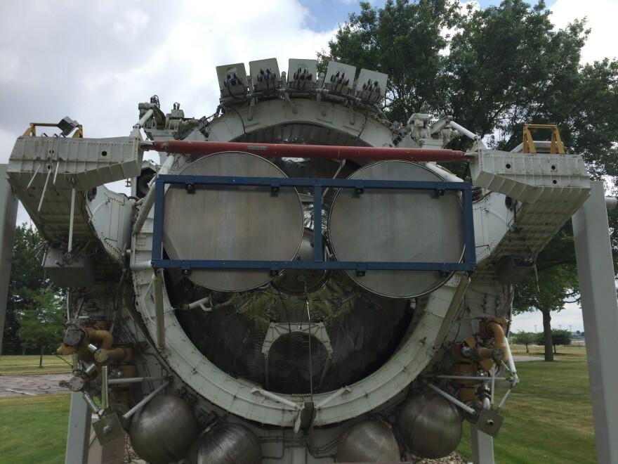 photo of Centaur rocket
