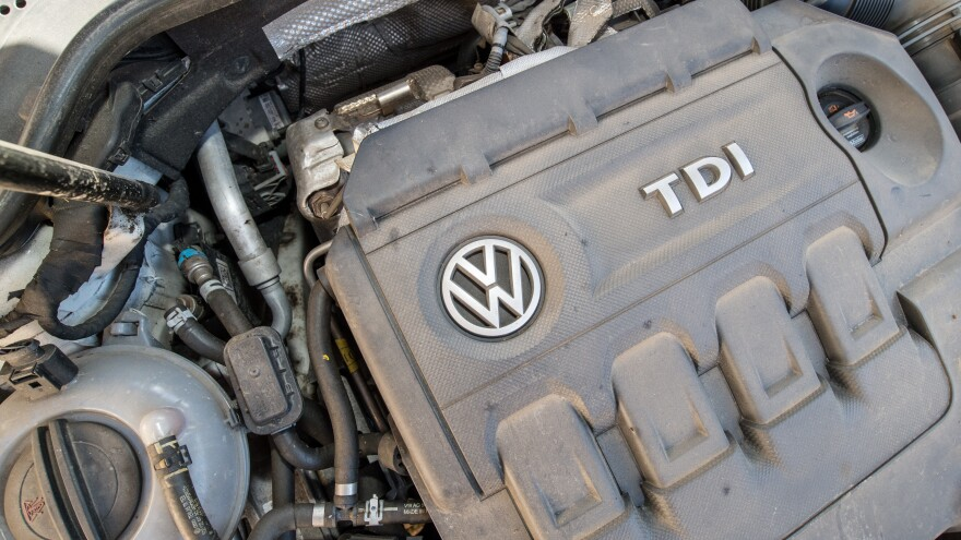 """Diesel car engines like this one in a 2012 Volkswagen Golf are among those that <a href=""""http://www3.epa.gov/otaq/cert/violations.htm"""" target=""""_blank"""">include software that circumvents</a> EPA emissions standards for certain air pollutants."""