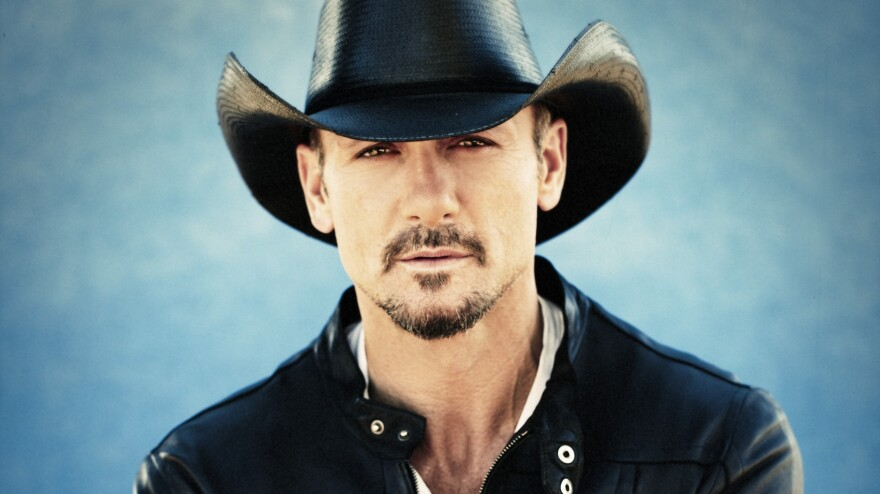 Tim McGraw's new album is called <em>Two Lanes to Freedom.</em>