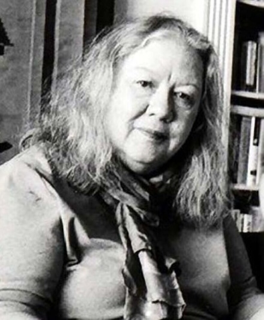 "Mary Thom, seen in an undated photo, was ""one of the great writers, editors, and visionaries of the women's movement,"" said Julie Burton, president of The Women's Media Center."