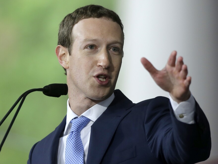 Facebook CEO Mark Zuckerberg, seen here in May, has announced new rules intended to remove ads that interfere with the integrity of elections.