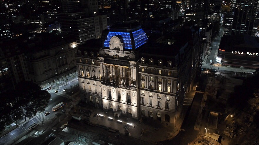 """Everything at the brand new Cultural Center in downtown Buenos Aires is free — from art installations to symphony concerts. """"Culture is an investment for this government, not an expense,"""" says Culture Minister Teresa Parodi."""