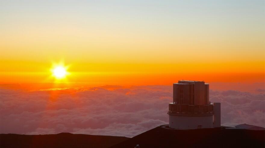 Astronomers used the Subaru Telescope atop a Hawaiian volcano to spot the distant world.