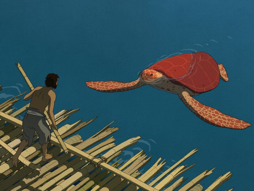 <em>The Red Turtle</em> is a painterly treat for adult fans of animation — though it may be too slow for little kids.
