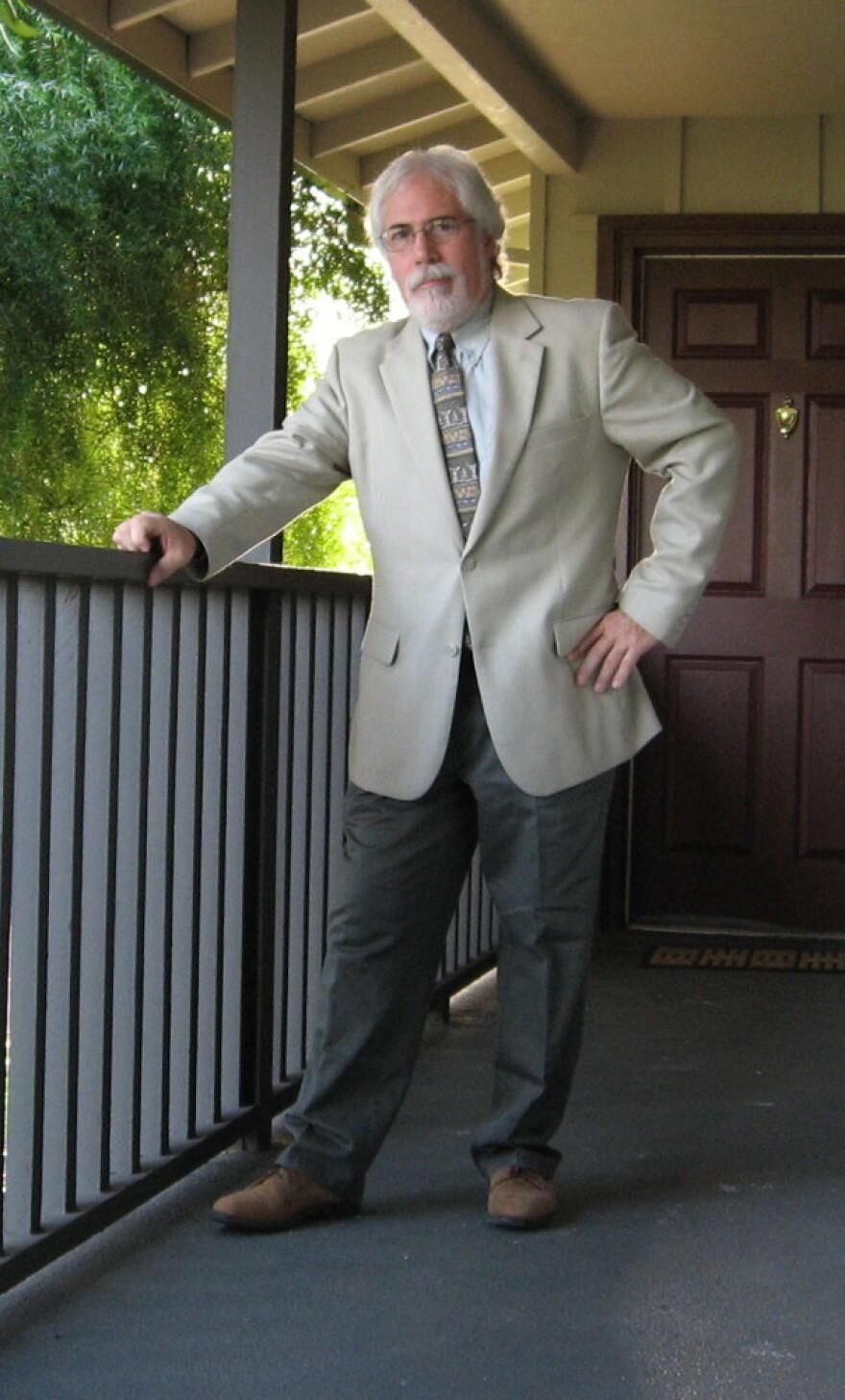 Joseph DiVerdi is a chemistry professor and cannabis researcher at Colorado State University.