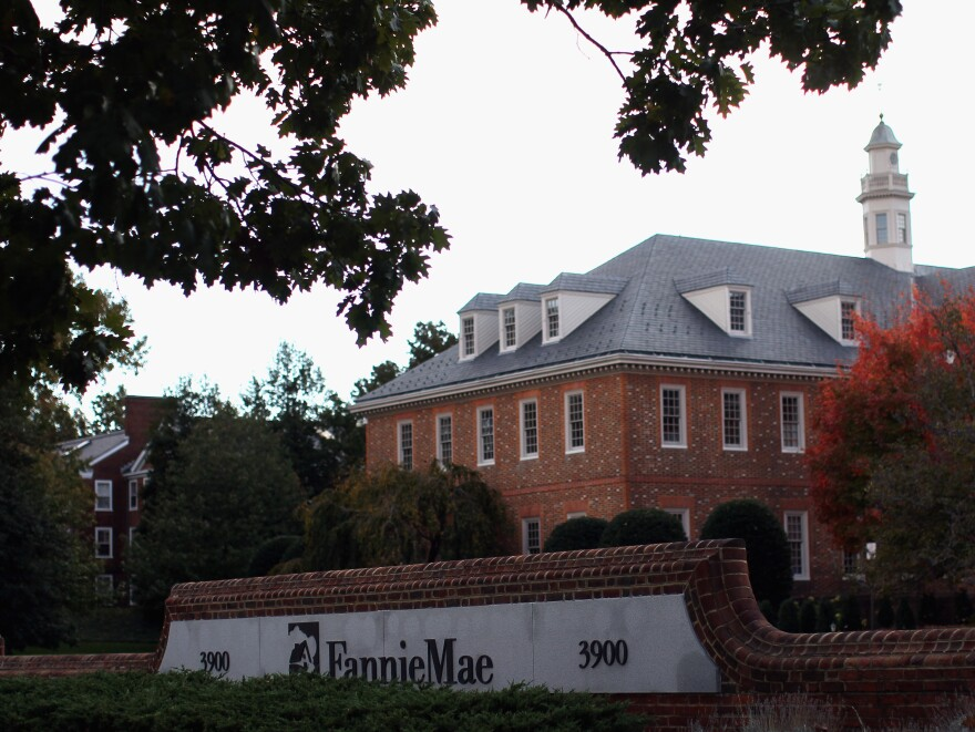 The government took over mortgage giants Fannie Mae (seen in 2010) and Freddie Mac in 2008, during the worst of the housing crisis.