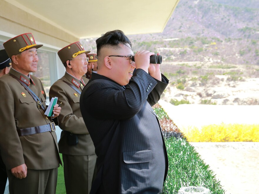 North Korean leader Kim Jong Un has his eyes on larger goals than just the Olympics.