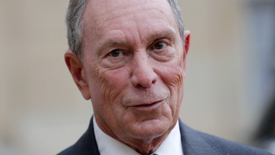 Former New York City Mayor Michael Bloomberg says his foundation will fill a funding gap left by the U.S.