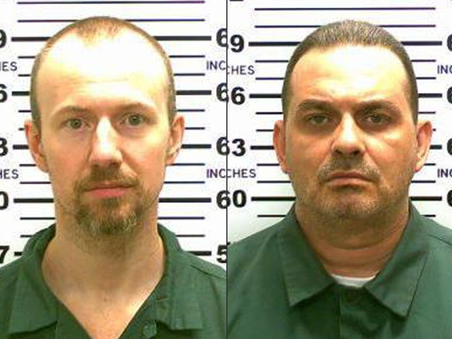 David Sweat, left, and Richard Matt. Authorities on Saturday, June 6, said Sweat, 34, and Matt, 48, both convicted murderers, escaped from the Clinton Correctional Facility in Dannemora, N.Y.