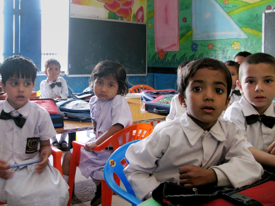 Only about 30 percent of the students at Sarvodya School are girls. The school is in the Jhajjar district of Haryana state, which has the lowest ratio of girls to boys under the age of 6 (774 to 1,000) in India.