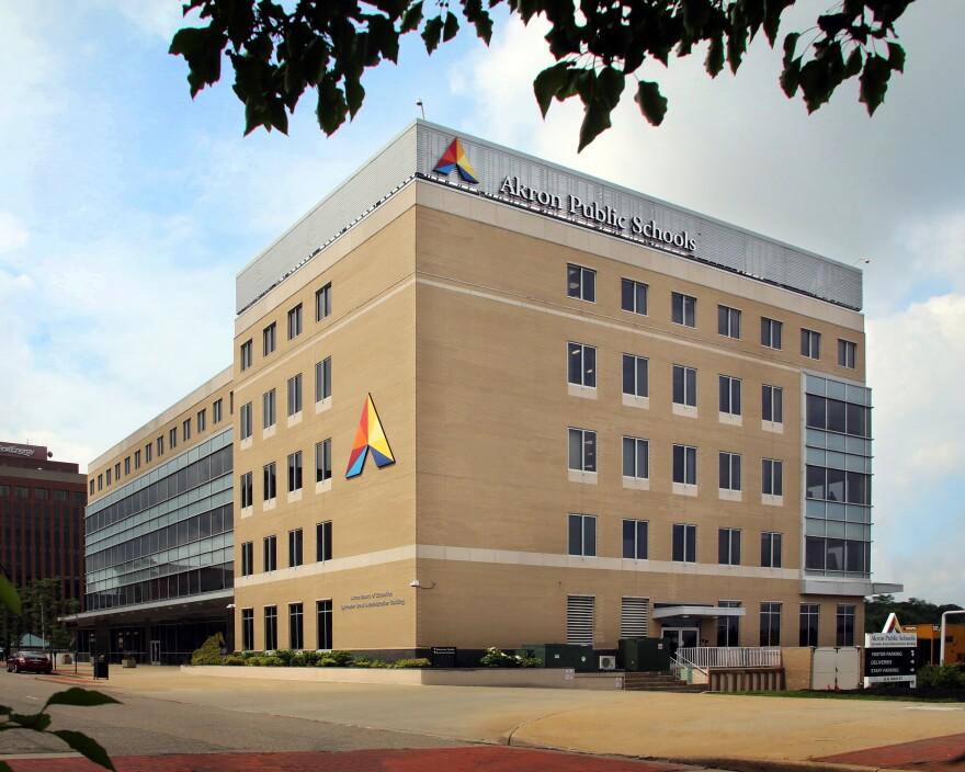 photo of Akron Public Schools headquarters