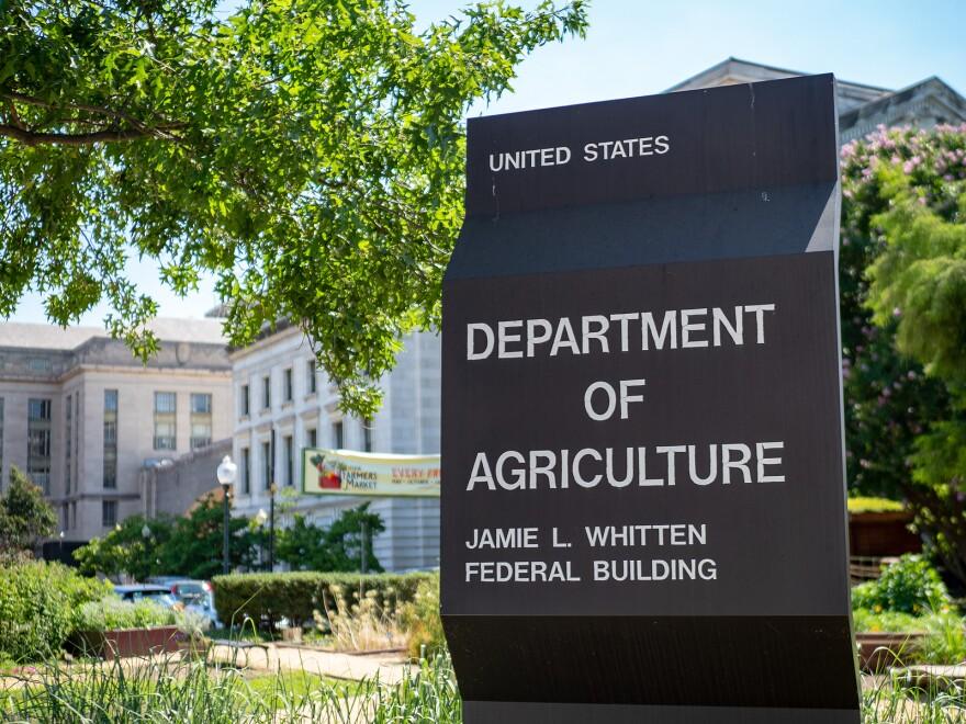 Washington, Dc July 10, 2018: United States Department Of Agricu