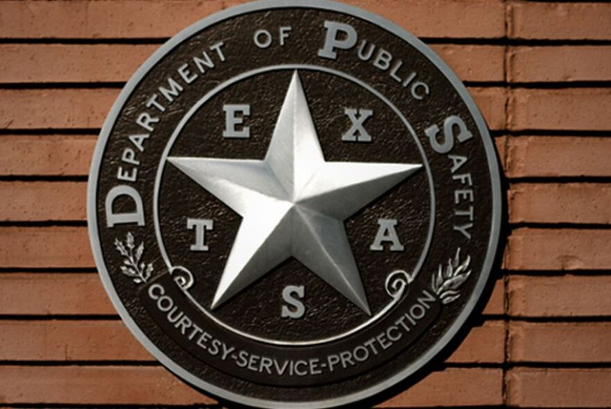 A Texas Department of Public Safety seal