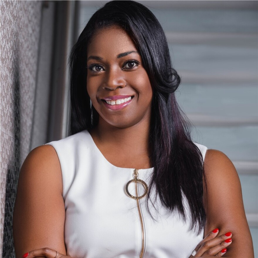 Shante Williams, a venture capitalist and chair of Heal Charlotte's Board