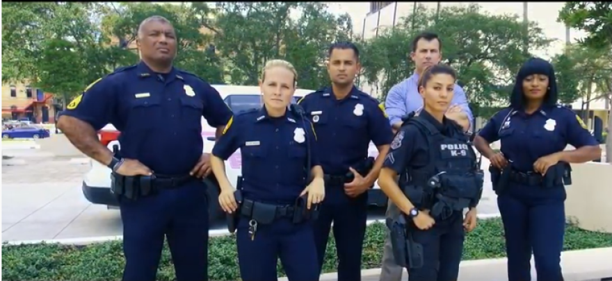 Tampa Police officers