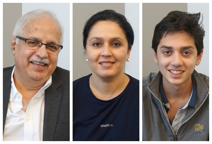 (L-R) Zia, Fatima and Aariz Ahmad joined host Don Marsh to talk about how their faith influences their passion for living a life of service.