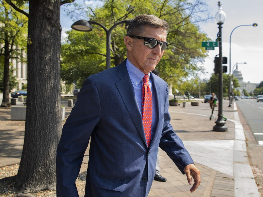 The Justice Department is dropping charges against Michael Flynn, President Trump's former national security adviser.