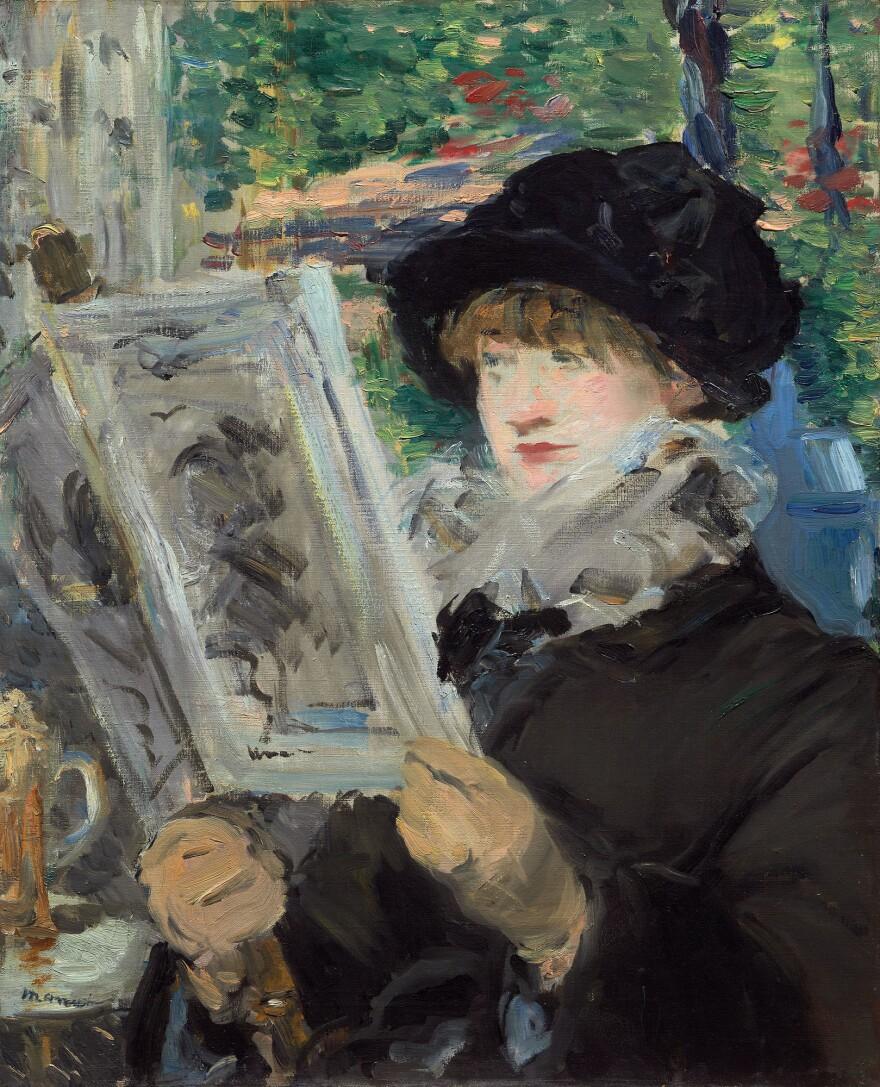 <em>Woman Reading,</em> 1879-1880