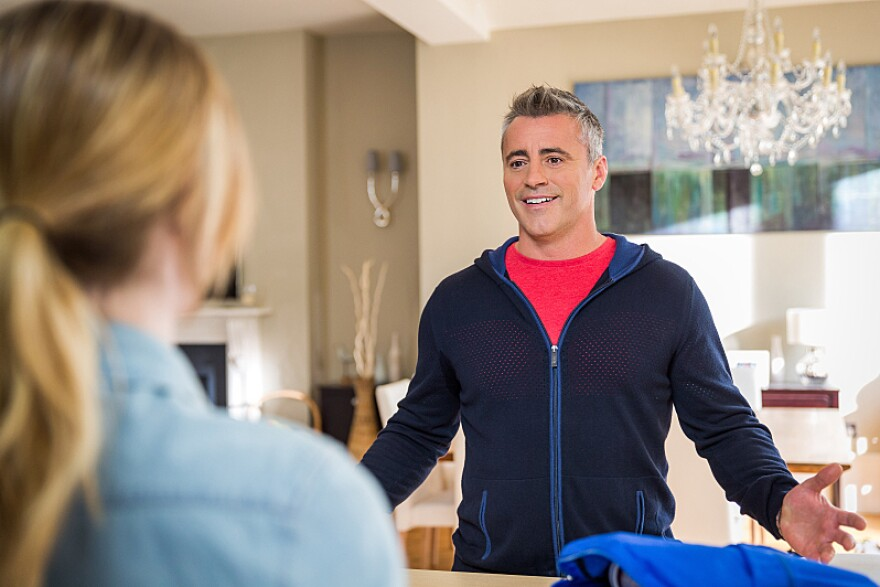 In <em>Episodes</em>, Matt LeBlanc plays an exaggerated version of himself, a self-centered womanizer who uses celebrity and money to coast through life, much like Larry David does in <em>Curb Your Enthusiasm. </em>